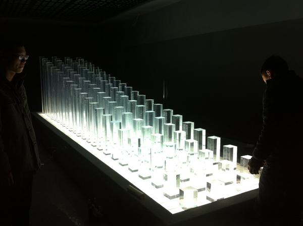 大型水晶装置雕塑1