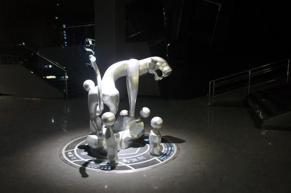 白虎雕塑 不锈钢雕塑2