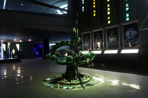青龙雕塑 不锈钢雕塑3