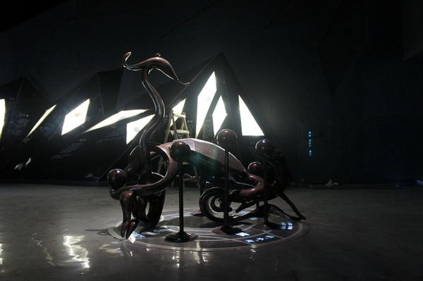 玄武雕塑 不锈钢雕塑 四川大图雕塑2