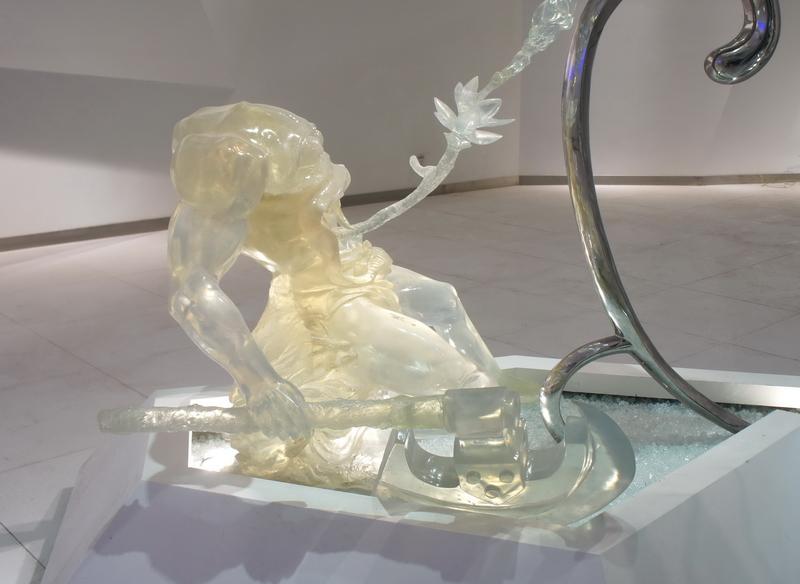 水晶人物雕塑 V2水晶 水晶雕像