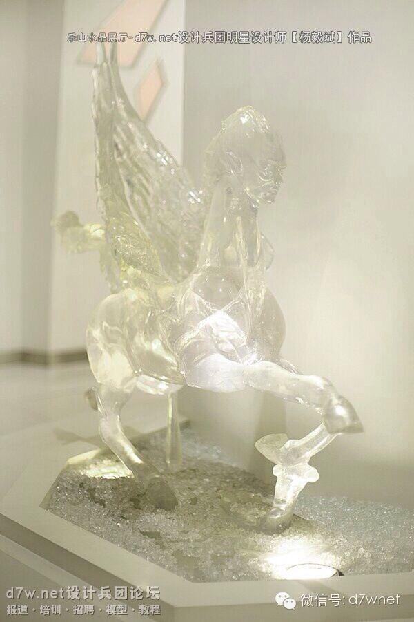 飞马水晶雕塑-大图V2水晶