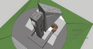 四川空军医院雕塑设计