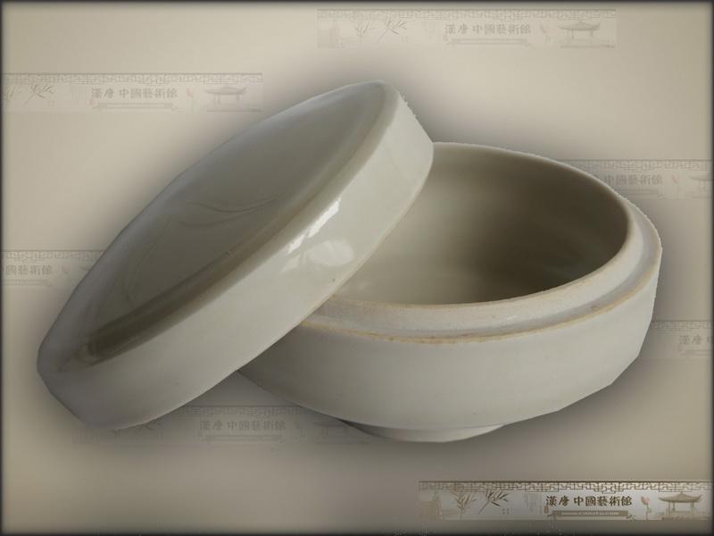 宋代白瓷盖盒