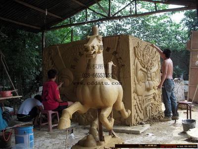 马踏飞燕 仿古铜雕塑