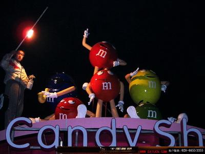 欢乐谷 candy shop 糖果屋 卡通雕塑