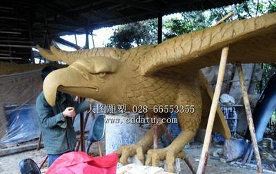 九寨沟红酒酒业飞鹰雕塑