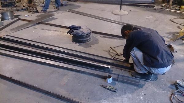 贵州六盘水 城市雕塑工程进度10月10日