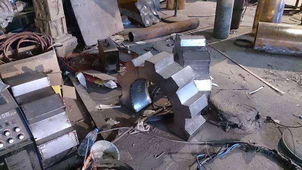 贵州六盘水 城市雕塑工程进度10月12日