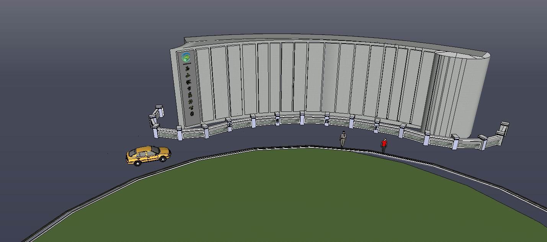 遂宁西山入口设计
