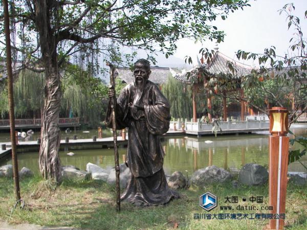 老寿星人物雕塑