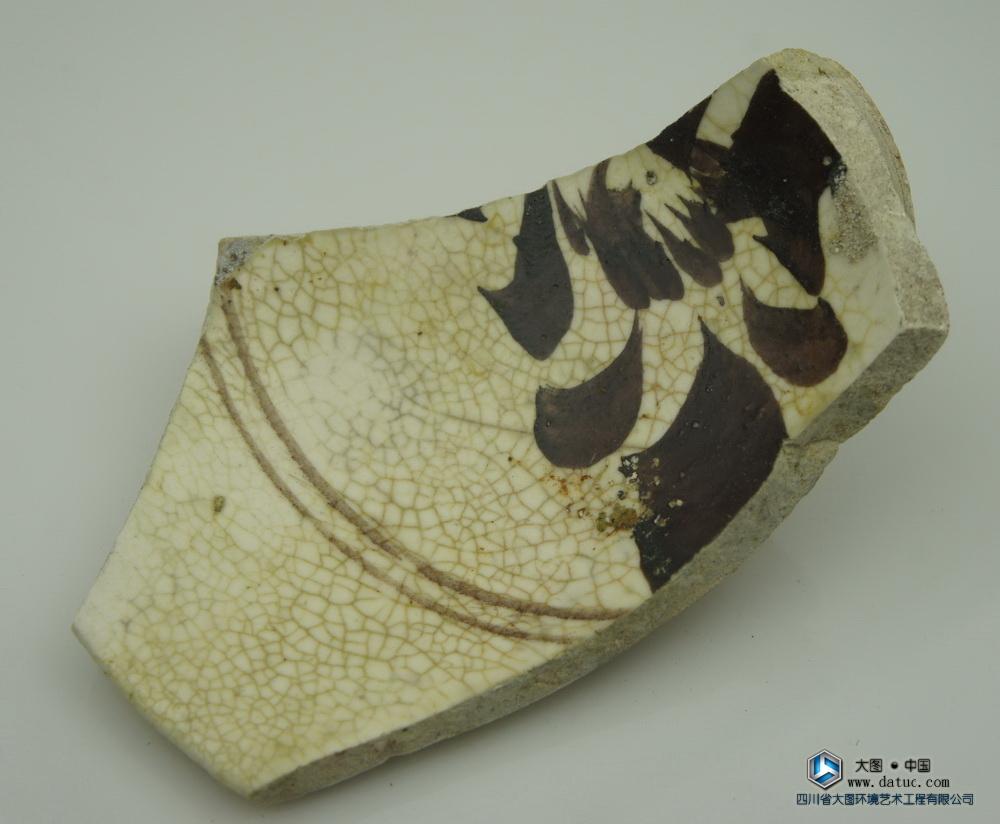 宋代 磁州窑 瓷片标本
