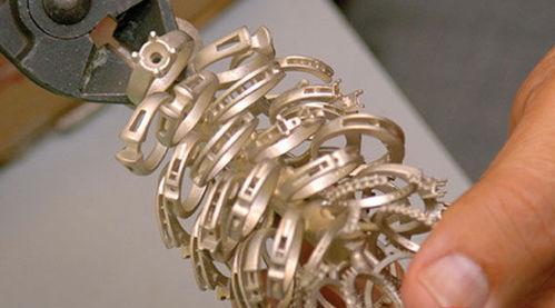 珠宝首饰钻戒制作流程