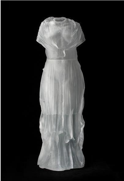水晶婚纱 透明水晶婚纱 透明婚纱 玻璃婚纱 透明婚纱设计 婚纱店展柜 婚纱雕塑 透明...
