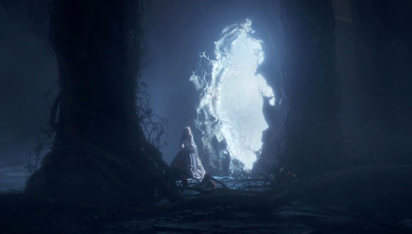 美女与野兽 因片中的 水幕幕墙
