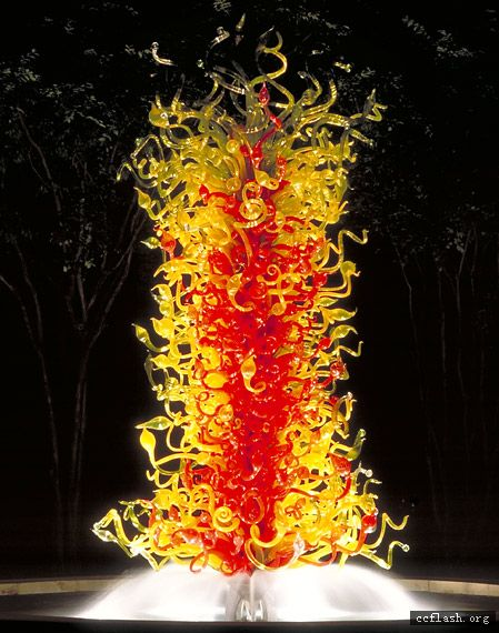 水晶簇 玻璃簇 水晶馆雕塑 玻璃雕塑 玻璃艺术品 水晶艺术品