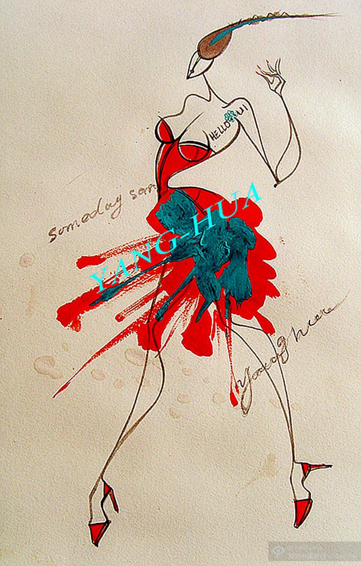 透明时装 时装设计 时装色彩