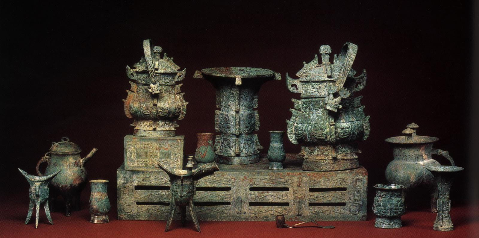 古代青铜器规制-青铜器摆放数量规矩