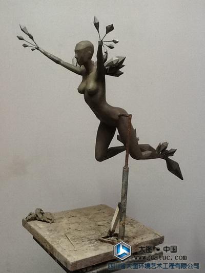 天使雕塑 精灵雕塑 雕塑原创设计