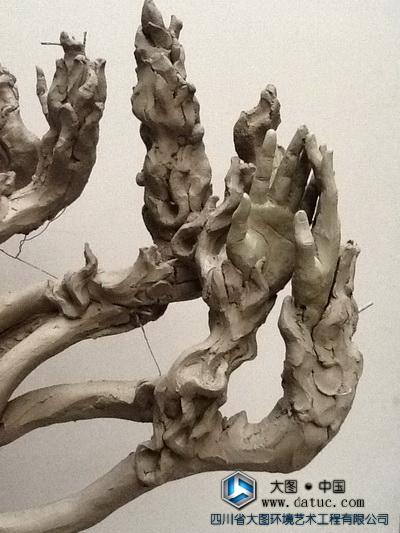 帝江雕塑 山海经雕塑原创设计 中国传说深化故事