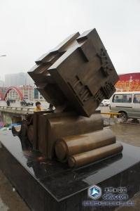 书卷铸铜雕塑 城市雕塑 广场雕塑 雕塑设计_9.JPG