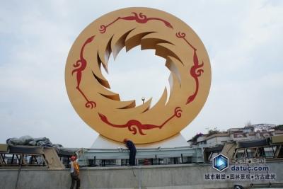 金沙太阳神鸟雕塑制作流程_13.JPG