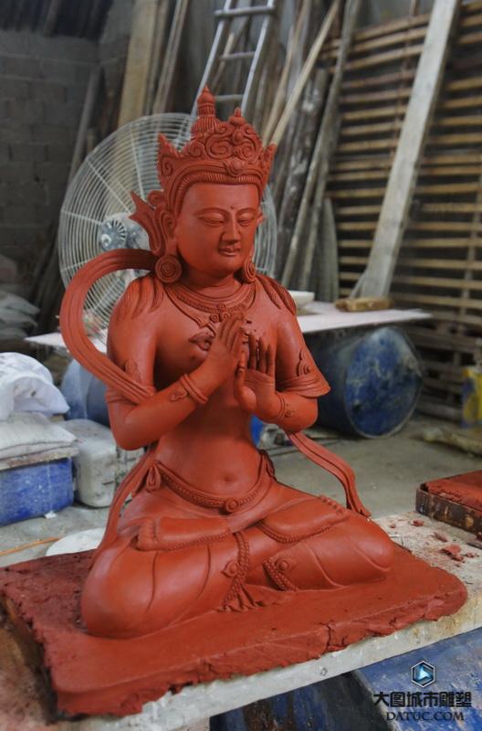 大日如来佛像神像塑像 佛像雕塑 佛像泥塑 佛像泥塑创作