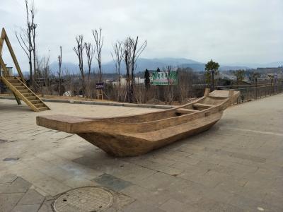 GRC木 船 泸沽湖 摩梭族船_1.jpg