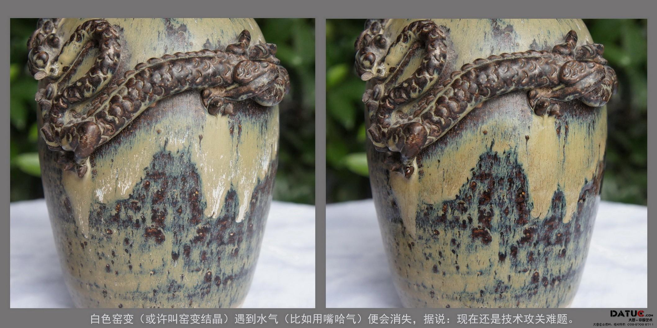 4-5、堆塑龙纹窑变谷仓罐(局部).jpg