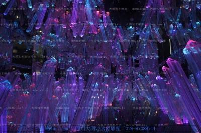 水晶柱雕塑 水晶簇雕塑 透明雕塑 琉璃雕塑 玻璃雕塑 雕塑设计 雕塑创作 四川雕塑 成都雕塑 四川雕塑厂 成都 ...