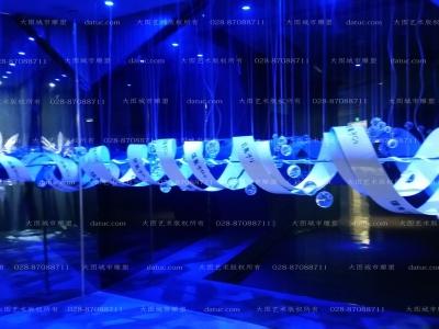 水晶雕塑 艺术馆雕塑 生命雕塑 博物馆雕塑 透明雕塑  雕塑设计 雕塑创作 四川雕塑 成都雕塑