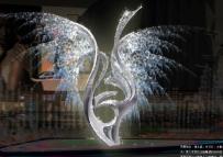 神鸟水晶雕塑设计