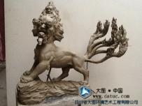 天吴雕塑 山海经雕塑原创设计 中国传说深化故事