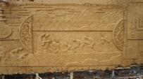 大医精诚 传统中医 文化浮雕 泥塑创作