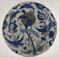 孔雀瓷盘-卢浮宫