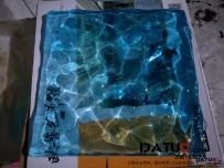 水波透明雕塑 透明水波纹 水纹 透明雕塑 水晶雕塑 大型透明水晶雕塑