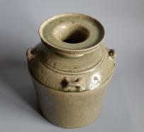 西晋越窑青瓷罂 盘口壶【一级】GC-DT-00016