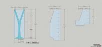 水晶柱杯,模具制作-亚克力刮板