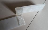 水晶雕塑 水晶面板 粘接强度实验  2016.12.12