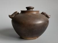 宋代黑釉猪系盖罐 茶入 茶末罐【二级】 GC-DT-00008