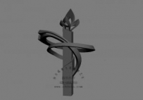 城市广场 不锈钢 莲花 景观柱 雕塑 设计 3D图