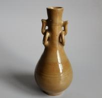 元代龙泉窑双环耳胆式瓶【二级】GC-DT-0129
