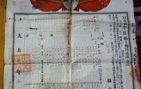 1952年 土地房产所有证