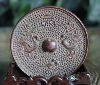 唐-五代-宋 鸾鸟 黄铜镜 (鸾鸟镜子 鸾鸟纹饰)