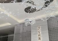 四川泸州老窖定制中心水晶雕塑《百鸟朝凤》完美竣工