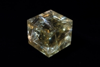 大图黄水晶 雕塑材质 (外部灯光源)