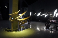 麒麟雕塑 不锈钢雕塑- 四川成都雕塑设计不锈钢雕塑厂