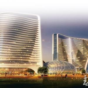 云南花之城大型水晶雕塑工程 重13吨【完美竣工】