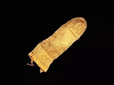 300年前的避孕套 古老的避孕套,在瑞典于1640年使用