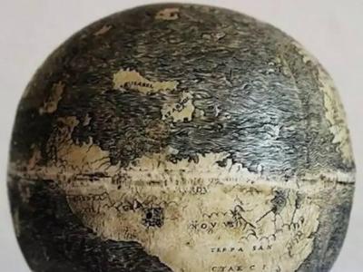 500年前的地球仪  最古老的地球仪 古老鸵鸟蛋地球仪 意大利
